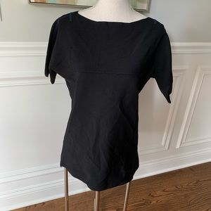 Rag and Bone Boat Neck Knit Blouse